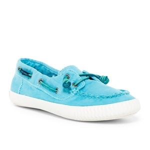 Sperry Sayel Away Washed Canvas Slip-On
